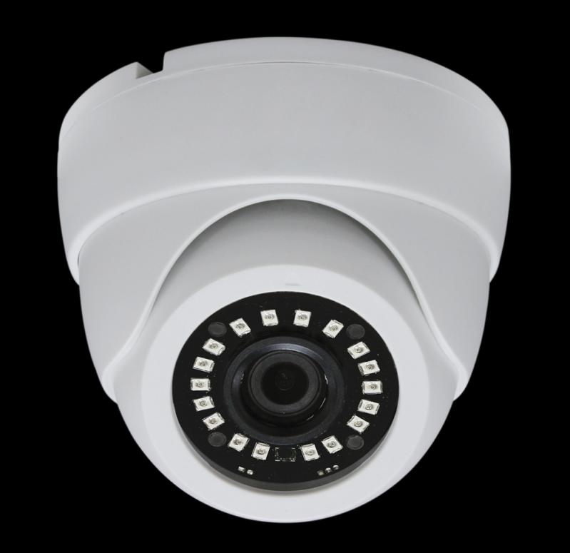 Câmera Dome 24 Leds 1/3 1200 Tvl - Box Diadema - Câmera Dome Externa