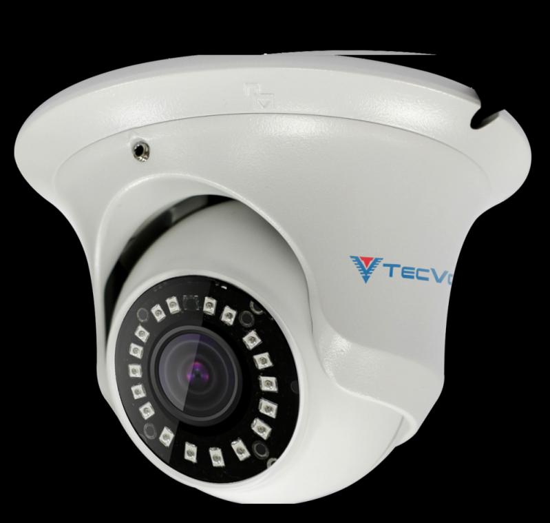 Câmera Dome Externa Mais Barata ABC - Câmera Dome com áudio