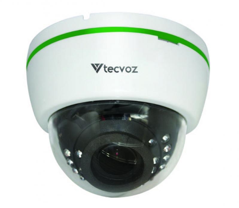 Câmeras Dome 24 Leds 1/3 1200 Tvl Ferraz de Vasconcelos - Câmera de Segurança Dome