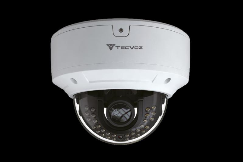 Câmeras Dome com áudio Cotia - Câmera Speed Dome Ip