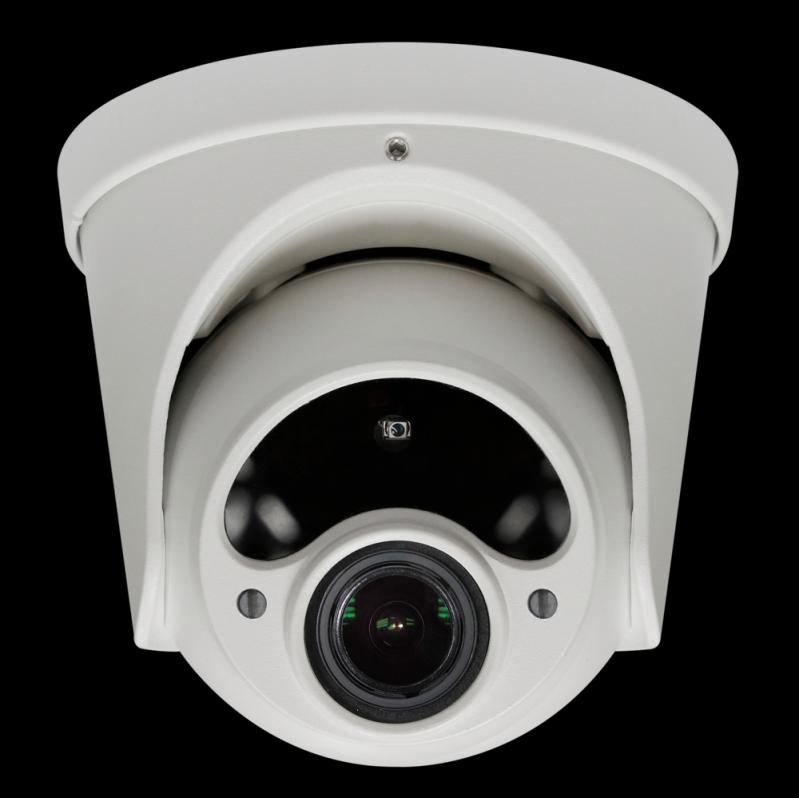 Compra de Câmera de Segurança Dome Ribeirão Pires - Câmera Dome com áudio