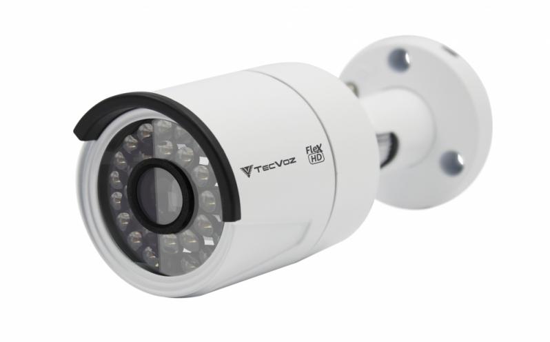 Preço de Câmera Bullet Ahd 720p São Bernardo Centro - Câmera Bullet Analógica