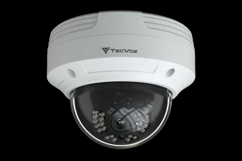 Quanto é Câmera Dome 24 Leds 1/3 1200 Tvl - Box Santo André - Câmera de Segurança Dome